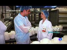 Puedes ver el proceso de fabricación de los quesos industrialmente.