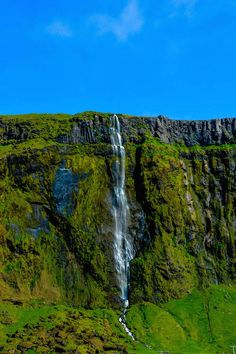 iceland photo waterfall