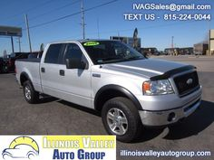 NO ACCIDENTS!! 2 PREVIOUS OWNER!! (CARFAX) 5.4L V8 ENGINE!! 4X4!! TONNEAU COVER!! BEDLINER!! GOOD TIRES!! CLEAN INTERIOR!! READY TO TOW!! LOCKING TAILGATE!! A MUST SEE!! COME CHECK IT OUT TODAY!! Used 2006 Ford F-150 XLT SuperCrew 4WD for Sale in Peru IL 61354 Illinois Valley Auto Group
