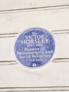 Sir Victor Horsley - Gower Street, London, WC1