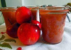 Jablečno-jahodová přesnídávka