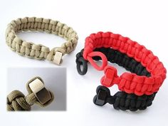 How to Make a Hex Nut Heart Shaped Knot and Loop Paracord Bracelet-Cobra Weave  https://www.youtube.com/watch?v=Y0eDvcTOm1E