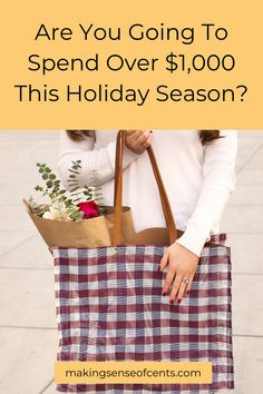 Are You Going To Spend Over $1,000 This Holiday Season?
