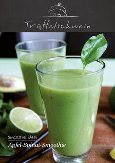 Apfel-Spinat-Smoothie #greensmoothie