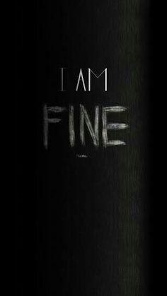 أنا بخير .