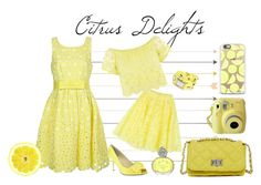 """""""Citrus Delights"""" by lisaargy ❤ liked on Polyvore featuring P.A.R.O.S.H., Nina, Steve Madden, Sisley and La Mer"""