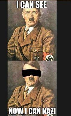 Hitler humor Have A Laugh, Hitler Jokes, Hitler Funny, Ryan Hansen, History Jokes, Funny History, Bad Person, Corny Jokes, Nerd Jokes