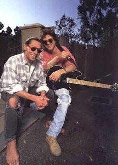 Eddie and Alex Van Halen!!❤️ 1996