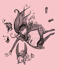 Alice. Sherri Dupree Bemis This would be a cool tattoo.