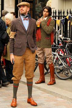 Shop this look on Lookastic:  https://lookastic.com/men/looks/blazer-cardigan-long-sleeve-shirt-dress-pants-oxford-shoes-flat-cap-bow-tie-scarf-socks/4538  — Tobacco Leather Oxford Shoes  — Grey Wool Socks  — Brown Plaid Wool Dress Pants  — White and Blue Vertical Striped Long Sleeve Shirt  — Red Polka Dot Bow-tie  — Navy Print Silk Scarf  — Tan Flat Cap  — Dark Brown Wool Blazer  — Dark Brown Cardigan