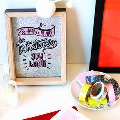 QUADRINHO STAY COOL E CONJUNTO WASHI TAPES STAY COOL IMAGINARIUM. #quadro #tapes #imaginarium #sigaimaginarium #fundesign #forhome #creative #design #presentes