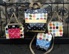 Colourful oil cloth bags made close to Dolgellau by Eleanor's Attic.  Check out the website for local stockings www.eleanorsattic.co.uk Oilcloth, Bags Uk, Baby Cartoon, Baby Socks, Cloth Bags, Blue Bird, Bag Making, Diaper Bag, Craft Projects