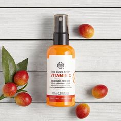 Vitamin C Energizing Face Mist 3.3 oz. The Body Shop $20