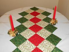Christmas Patchwork Table Runner £15.00
