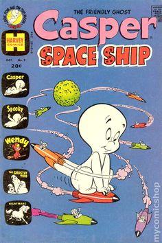 Casper Space Ship (1972) comic books