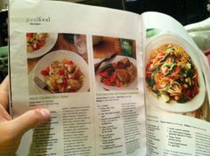 What learning looks like.. Actually found time to read a mag for some recipe ideas . . .from @Lhowe100