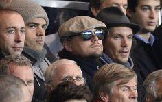 Leonardo DiCaprio wears sunglasses at PSG match to Zlatan Ibrahimovic induced blindness