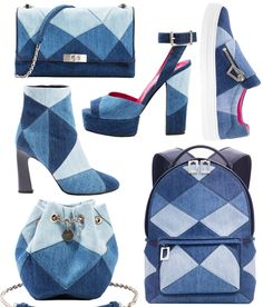 The Next Denim Trend Has Nothing to Do with Your Jeans - Camille Seydoux's Roger Vivier Denim Accessories  - from InStyle.com