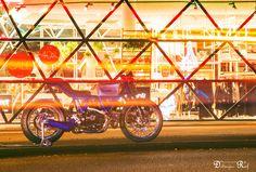 https://flic.kr/p/CdpfZ3   MotoPuro Scrambler Al 13 Blue   Place: Eindhoven, NL Date: 28-12-2015 MotoPuro Ducati Scrambler Al 13 Blue #customrumble JAB #12