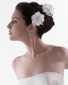 Lori London Silk Peony Hairpin. Like/follow us at Lori London on Pinterest for more amazing ideas!