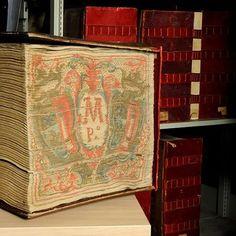 Libro mastro dell'Archivio segreto vaticano, non avevo mai visto un volume di tale spessore!