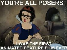 Hipster Snow White... was animated before it was cool