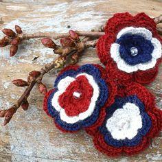 Bilderesultat for 17 mai lage 17. Mai, Crochet Earrings, Granny Squares, Diy, Jewelry, Design, Bricolage, Jewels, Schmuck