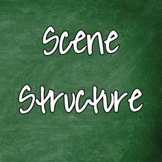 Does that title give you the heebie-jeebies? Does the idea of imposing structure on your scenes make you want to run and hide? I felt the same way once upon a time, but that was back in the days wh…