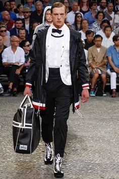 Moncler Gamme Bleu Spring 2015 Menswear.
