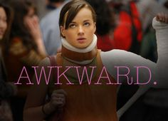 Awkward is another favorite TV show. This show is not only hilarious, but shows how hard life can be for teenagers in a dramatic way. This show does a good job at showing how judgmental society is, especially teens. Best Tv Shows, Best Shows Ever, Favorite Tv Shows, Movies And Tv Shows, Favorite Things, Awkward Tv Show, Awkward Mtv, Awkward Season, Awkward Funny