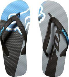 e8c3c50b3cd74a Fox Racing Flight Flip Flop Men s Sandal Slipper Footwear Black on Sale