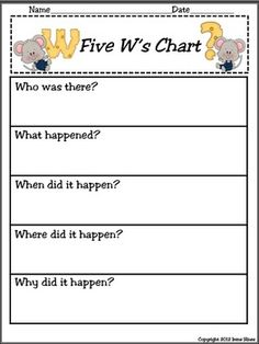 Graphic Organizers For Elementary Grades ~ For All Subject Areas Reading Strategies, Reading Activities, Reading Skills, Teaching Reading, Readers Workshop, Writing Workshop, Kids Education, Special Education, 3rd Grade Reading
