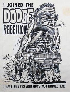 "Ed Roth Original Art | Preview: ""Kustom Kulture 2011″ @ Copro Gallery"