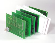 Cuircuit Board Mail Holder