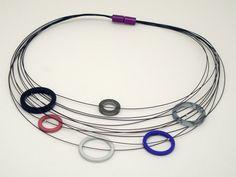 """CONTEXT Galeria - Silvina Rio - collar/collar/necklace """"Gama 1"""""""