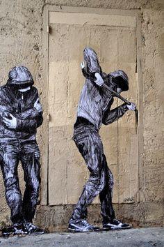 By Lavalet #streetart #urbanart