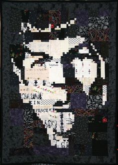 totally awesome Spock quilt  http://www.hastyquilter.net/category/quilt/pattern-quilt/