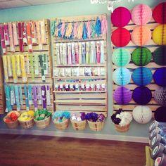 Petite Party Studio in downtown Gilbert, AZ and on line. A peek into our studio!! #partyshop #petitepartystudio