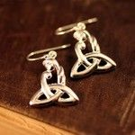 Celtic mother's knot earrings...from the Irish Jewelry Co.