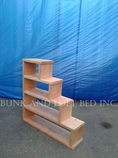 Stair Case Shelf For Bunk And Loft Bed by BunkAndLoftBedinc