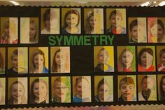 Love to see our older grades do this in art!  Cool way to teach symmetry! Bet the kids would love it!
