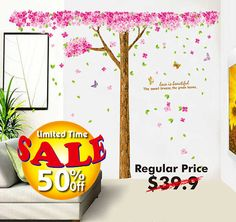 Sale 50% OFF Wall Decal  Vinyl Wall Stickers Art by HomeFreeStyle
