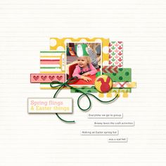 Scrapbooking Ideas Inspired by Amy Kingsford's Layouts  |Vicki Hibbins | Get It Scrapped