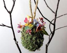 Moss Easter Egg Ornament