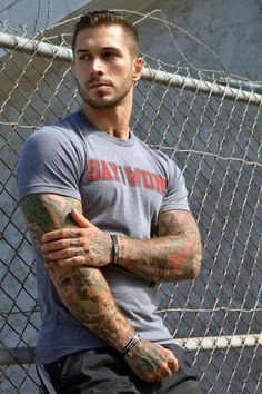 inked tattooed sexy tattoos. Idk who he is but dayum!