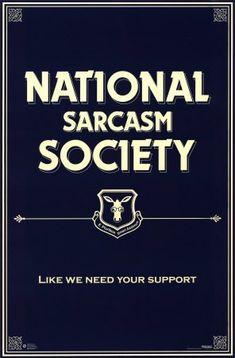 :) y si las personas pudieran aprender a ser sarcásticas en lugar de barbajanas…