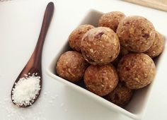 YUMMO - 5 Ingredient Salted Caramel Bliss Balls!  Recipe here: https://www.healthymummy.com/recipe/5-ingredient-salted-caramel-bliss-balls/?lbwref=83&utm_content=buffercf8fd&utm_medium=social&utm_source=pinterest.com&utm_campaign=buffer