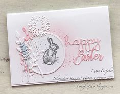 Hello and welcome I am Karen Farquhar from Australia and I thank you for joining me today for Inspire. Easter Projects, Easter Ideas, Stampin Up Ostern, Horse Cards, Animal Cards, Card Tags, Homemade Cards, Stampin Up Cards, Cardmaking