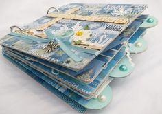 Winter wonderland scrapbook album by Timi