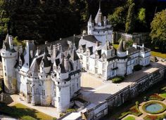 Château d'Ussé (inspiration for Sleeping Beauty)